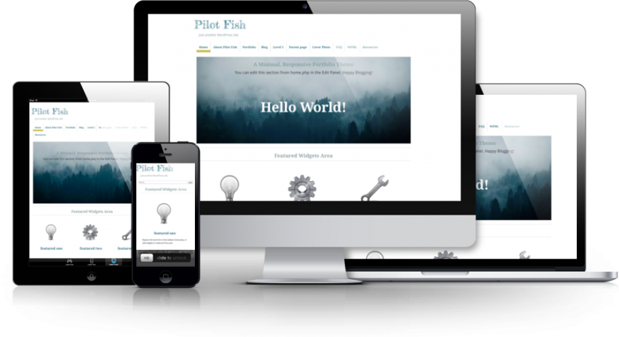 Pilot Fish WordPress Theme